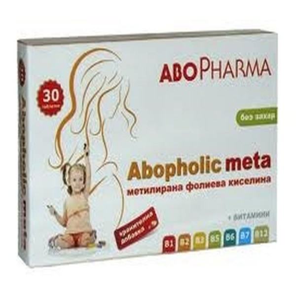 Abo Pharma Abopholic Meta 30 Tablets