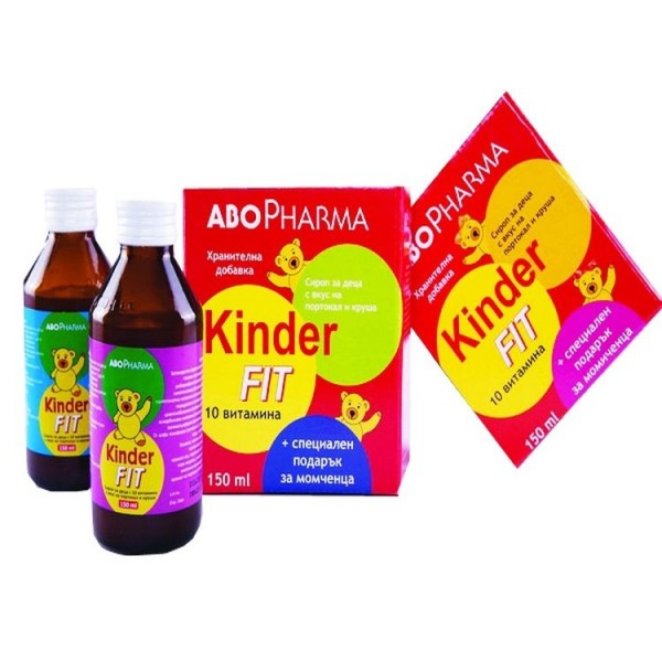 Abo Pharma Kinder Fit Multivitamins Syrup 150ml