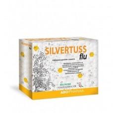 Silvertuss Flu 10 Effervescent Sachets of 4g
