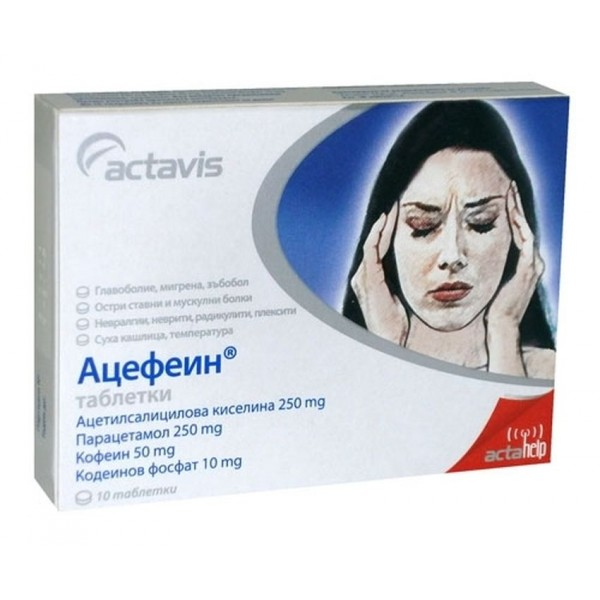 Acefein 10 tablets