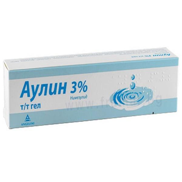Aulin Gel 3% 50g