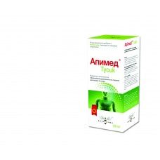 Apitusik honey syrup with thyme and propolis tinctures 100 ml (Apimed)