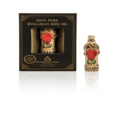 100% Pure Bulgarian Rose Oil 0.5ml In Box
