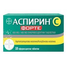 Aspirin C Forte 800/480mg 10 tablets