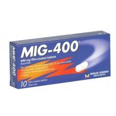 Mig (Ibuprofen) 400mg x 10 tab
