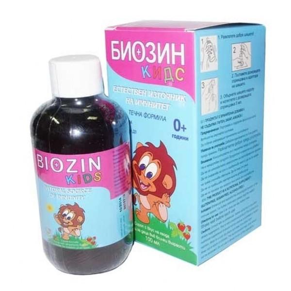 Biozin Kids Syrup With Colostrum 100ml