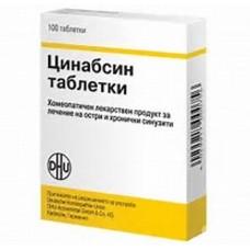 Cinnabsin tablets 100