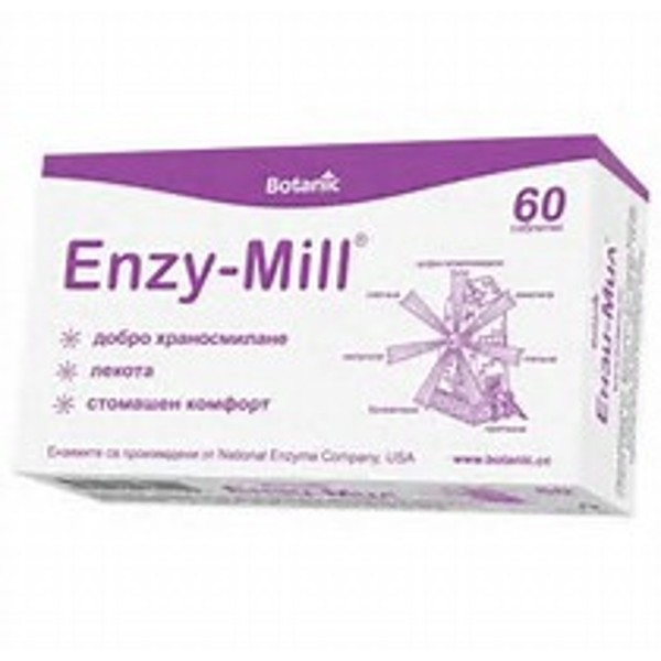 Enzy-Mill Tablets x 60
