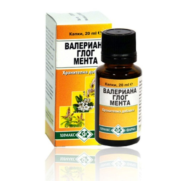 Valerian Hawthorn Mint Oral Drops 20ml