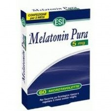 Melatonin Pura tablets 5mg 60 tablets