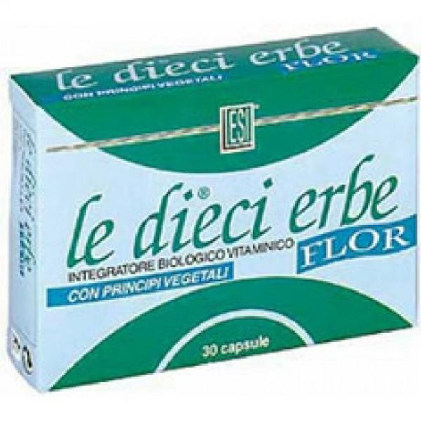 Le Dieci Erbe Flor caps x 30