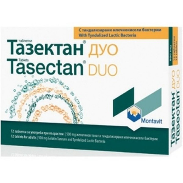 Tasectan Duo 12 Tablets