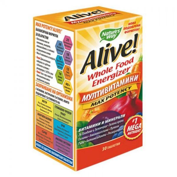Alive Miltivitamin x 30 Tablets