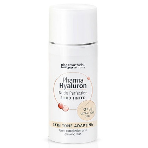 Pharma Hyaluron Nude Perfection Fluid Tinted SPF20 Ultra Light Skin 50ml