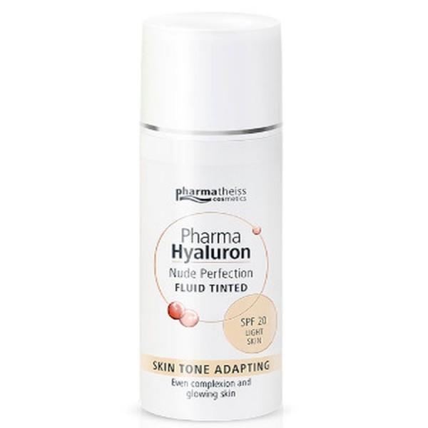 Pharma Hyaluron Nude Perfection Fluid Tinted SPF20 Light Skin 50ml