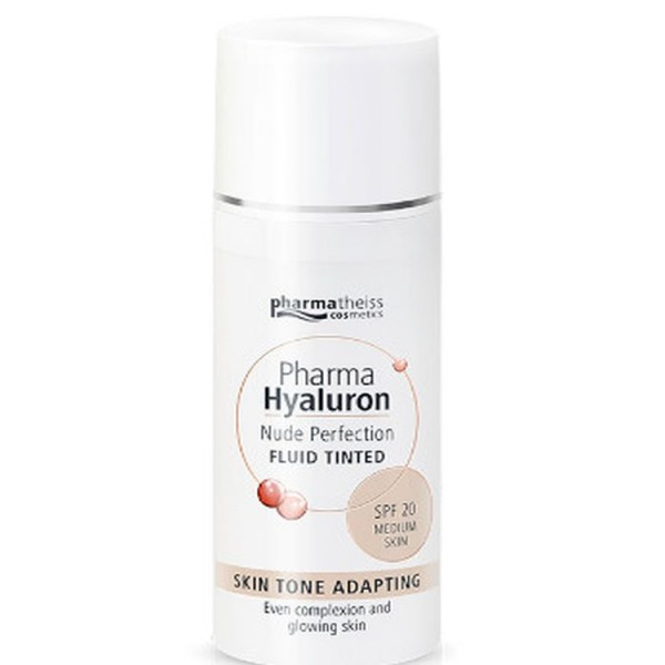 Pharma Hyaluron Nude Perfection Fluid Tinted SPF20 Medium Skin 50ml