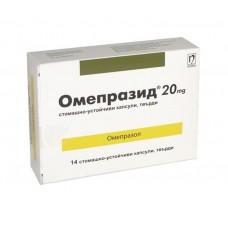 Omeprazid 20 mg 14 capsules