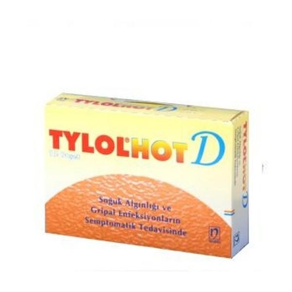 Tylol Hot D 12 Sachets