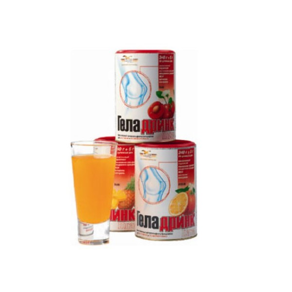 Geladrink Plus Cherry Flavor 340g Powder