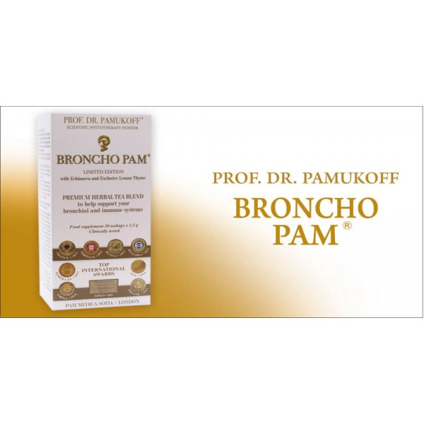 Broncho Pam Limited Edition Tea 30 Bags