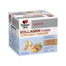 Doppelherz System Collagen 11.000 Turmeric + Ginger 30 Vials