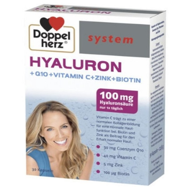Doppelherz System Hyaluron 30 Capsules