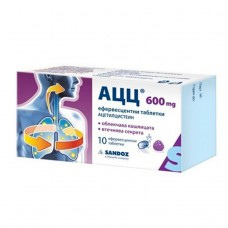 ACC 600mg 10 Effervescent Tablets