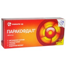 Paracofdal 20 Tablets
