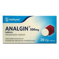 Analgin 500mg x 20 Tablets