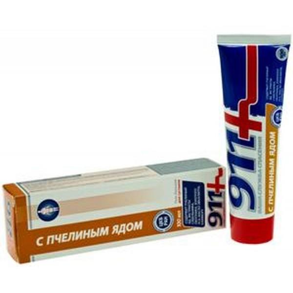 911 Body balm-gel with apitoxin 100ml