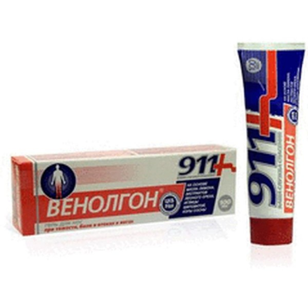 911 Venolgon gel 100 ml
