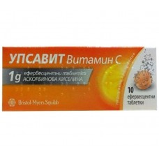 Upsavit Vitamin C 1000mg 10 Effervescent Tablets