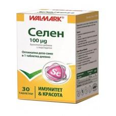 Selenium Walmark 100mcg 30 Tablets