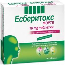 Esberitox Forte 16mg  20 Tablets